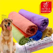 2 PCS 66*42.5cm Soft Dog Cat Cleaning Quick Towel Ultra-absorbent water uptake Bath Hair Soft Towel Pet Products(China)