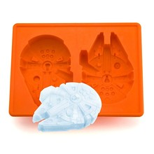 Star Wars Millennium Falcon Silicone Ice Cube Tray Chocolate Mold Kitchen Accessories(China)
