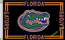 free shipping 3X5FT NCAA Florida State University Gator Flag Banner 100D Polyester flag(China)