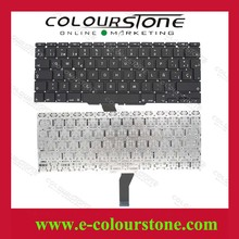 SP Layout Brand new For Macbook A1370 keyboard A1465 laptop keyboard  Black no frame small enter Teclado