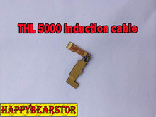 100% New good Power Induction flex cable For THL 5000 4400 & Free Shipping
