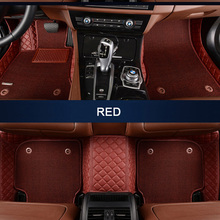 Custom fit car floor mats for Land Rover Discovery 3/4 freelander 2 Sport Range Rover Sport Evoque 3D car styling carpet liners