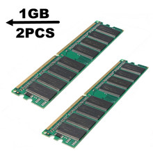 2GB (2x1 GB) DDR RAM 400 Mhz PC3200 No-Ecc Memory Ram DIMM 184-pin SDRAM Desktop PC Compatible With AMD 333/266MHz(China)