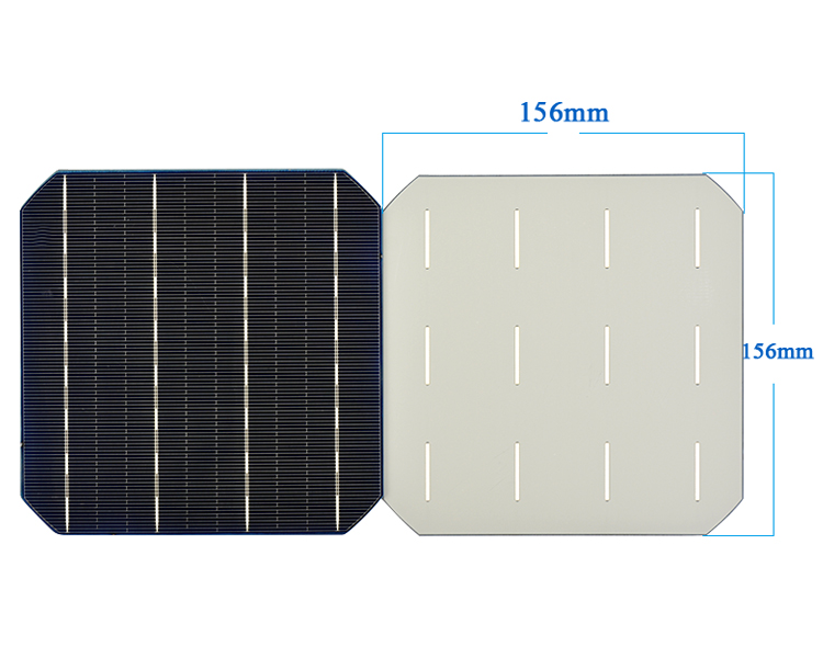 Aoshike Pcs 4.7W 0.5V Monocrystalline Silicon Solar Panel 156x156mm Solars Panel China Panneau Solaire Solar Cell DIY 4
