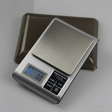 3000g 0.1g Digital Household Miniature Electronic Kitchen Scale Balance Cuisine Food Counting Scale With Tray Weighting