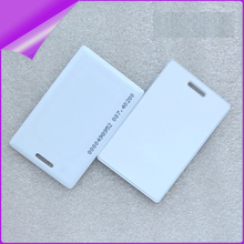 100pcs/box RFID card EM4200 125 KHZ RFID card EM Thick ID card suitable for access control and attendance cards(China)