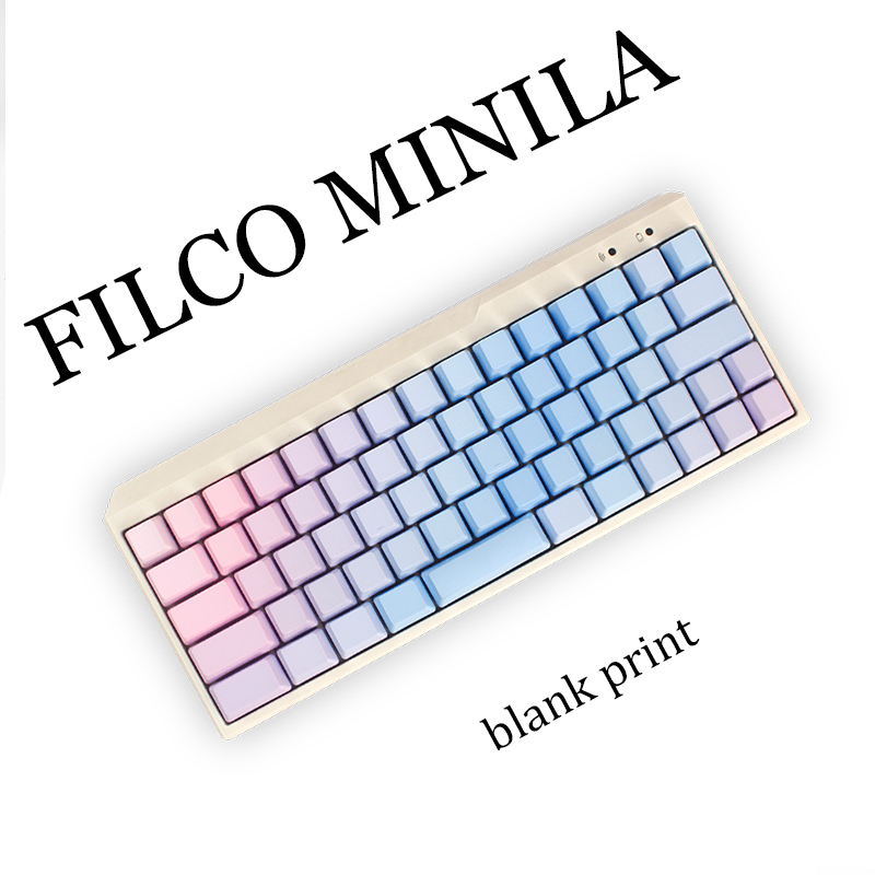 blank pbt keycaps for filco minila air mechanical keyboard cherry mx  oem profile thick pbt<br><br>Aliexpress