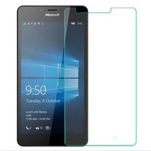2.5D 9H Tempered Glass For Nokia Lumia 640 XL 630 625 650 550 930 950XL 830 820 735 730 Screen Protector Cover Protective Film(China)