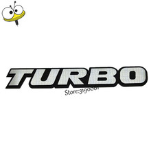 Car Styling TURBO Product Accessory Auto Body Exterior Decal Car Sticker For Opel Subaru Volkswagen Fiat Renault Peugeot Hyundai(China)
