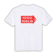 1044908 Vintage Italian Mille Miglia Rally Decal T-Shirt white Cotton 1000 Digital men t shirt SML XL XXL custom made