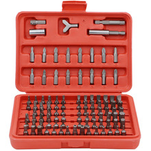 100PCS Screwdriver Security Bit Set Tamper Proof Slotted Hex With Storage Case for Durability and a Long Bit Life