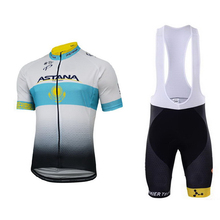 Summer 2017 NEW pro cycling teams men cycling shorts Racing Bike cycling jersey Mountain Quick-Dry Sports ASTANA cycling set