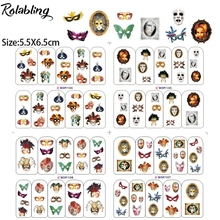Rolabling all kinds of Fashionable Mask nail sticker water for women decorations nails sticker art finger decal sticker