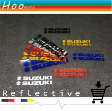 Reflective stickers car-styling motorcycle stickers and decals For SUZUKI GSXR 600 750 1000 K1 K2 K3 K4 K5 K6 K7 K8 H1 MOTO