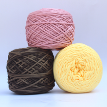1pcs/200g Fancy Rainbow Yarn Fo Knitting Chunky Hand-Woven Colorful Knitting Scores Wool Yarn Crochet Thread(China)