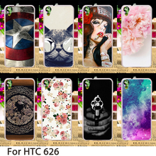 TAOYUNXI Cases For HTC Desire 626 Cover 650 628 A32 626w 626D 626G 626S Hard Plastic Soft TPU Flowers Animals Skin Sheath(China)