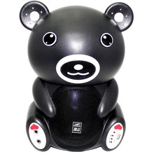 KARAOKE Bluetooth Speaker Panda V6 with wireless  Microphone Wireless Exterior Portable trolley floor-standing tower spaker