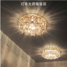 New Modern Crystal 3W LED Ceiling Light Fixture led indoor light led ceiling   light abajur lampshade