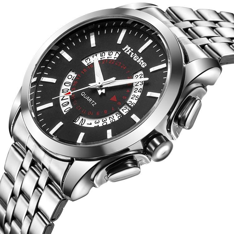 2017 Calendar Men Watches Top Brand Luxury Famous Business Wrist Watch Male Clock Men Quartz Wristwatch Relogio Masculino<br><br>Aliexpress