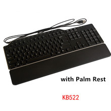 MAORONG TRADING New keyboard for Dell KB522 USB cable multimedia keyboard original with Palm Rest US Japanese Thai keyboard