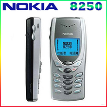 8250 Original Unlocked NOKIA 8250 mobile phone Dual band 2G GSM 900/1800 Classic Cheapest Cell phone free shipping(China)
