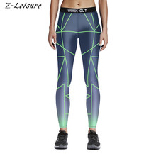 Buy Fitness Workout Sports Leggings Sexy Print Yoga Pants Quick Dry Women's Tracksuit Sports Trousers Female Running Tights YG046 for $11.99 in AliExpress store