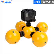 Buy TUOWEI 5pcs Underwater Camera Floating Ball Multi-function Mini Floaty Holder Gopro Hero 5 4 3 SJCAM Xiaomi Yi 2 Accessories for $32.99 in AliExpress store