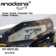 New  Cluster Scratch Protection Film Screen Protector for Yamaha FZ09 FZ-09 FZ 09 MT09 MT-09 MT 09 2014 2015 2016