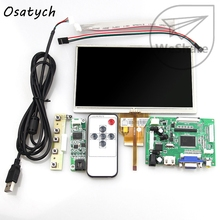 7 inch for Raspberry Pi LCD Touch Screen Display TFT Monitor AT070TN92 with Touch screen Kit HDMI VGA Input Driver Board(China)