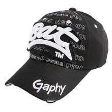 boy girl fashion sports baseball cap outdoor casual golf caps embroidery letter fitted women men snapback hat gorras wholesale(China)