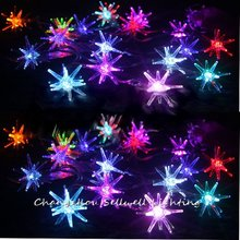 Christmas Decorations Great!christmas Light Holiday Showcase Decoration 2.5m Coloured Explosion Ball Led Battery Lighting H044