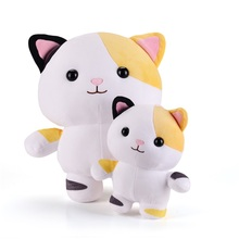 Plush Toys Collectible Kitty Doll Super Soft Plush Cat Toy Decor Doll Kids Children Friends Gift 38*30CM Free Shiping Large Size(China)