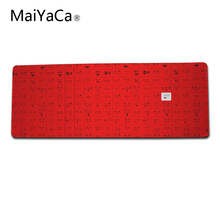MaiYaCa Soft Rubber Funny Expression Mouse Pad Large XL Mats 700*300*2MM Computer Notebook Durable Non-slip Rubber Mouse Mat Pa(China)