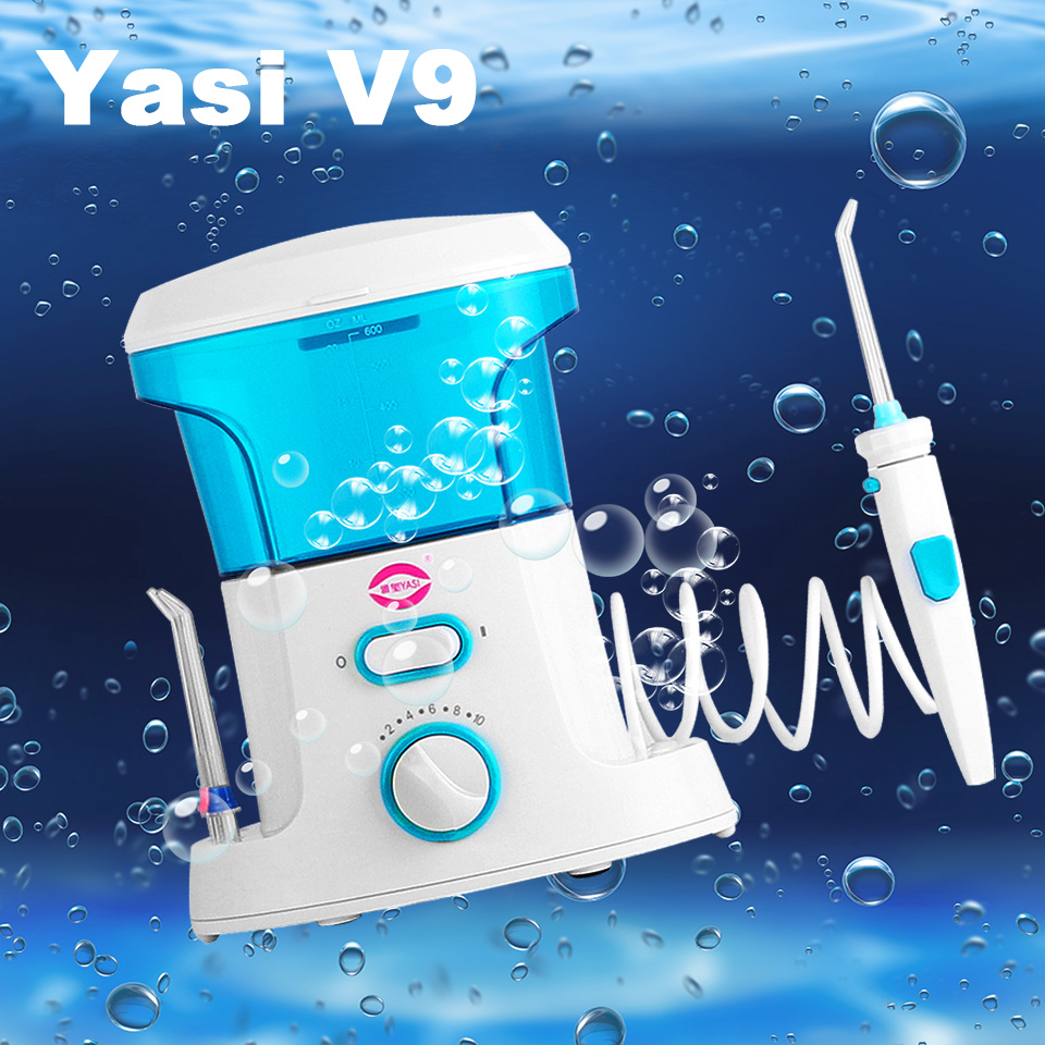 Newest YasiV9 Oral Irrigator Water Flosser Portable Irrigator Dental Floss Water Floss Pick Dental Water Pick Oral Irrigator<br>