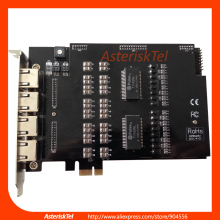 ISDN PRI card TE820E PCI-E card with 8 E1/T1 ports,te220 t1 card te420 e1 card te420b