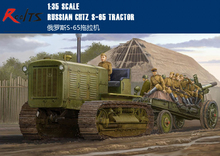 RealTS Trumpeter Model Kit 05538 1/35 Russian ChTZ S-65 Tractor model