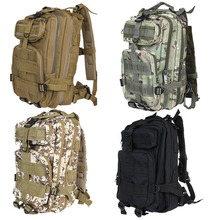 30L MOLLE Military Tactical 3 Day Backpack Outdoor Sports Camping Rucksacks Travel Hiking Trekking Bag Back Pack Knapsack(China)