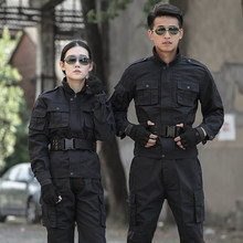 Military Uniform Tactical Combat Uniforms Black Uniforme Militar Tatico Multicam CS Clothing Combat Shirt Hunting Clothes Men(China)