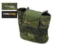 Fold Up Folding Dump Pouch Genuine Multicam Tropic MOLLE Magazine Dump Pouch Hypalon Straps+Free shipping(XTC050665)(China)
