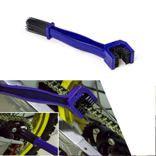 Motorcycle Bike Cycle Chain Maintenance Cleaning Brush Brake Dirt Remover Tools