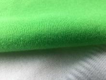Hot sale 50x50cm Green Fleece Fabric for DIY sewing Stuffed toys sofa Warp knitted brushed tricot Plain Loop velboa velvet(China)