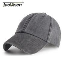 TACVASEN hombres gorras de béisbol de mezclilla Casual Snapback de moda  sombrero de Sol de pescado 480b604dac5