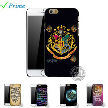 2016 Hot Selling Custom Harry Potter Case For Apple iPhone 4 4S 5 5S SE 5C 6 6S 7 plus Charm Mobile Phone Cover Accessories
