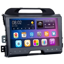 Android 5.1 System Double Din GPS Receiver Radio For KIA Sportage R 2011-2016 WIFI BT RDS Google OBD DVR Mirror Link Phonebook(China)