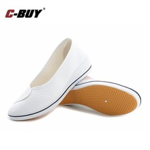 Canvas Shoes Brand Women Casual White Shoes Flats Soled Bendable Canvas Shoes Women Nurse Casual Shoes 3 colors z20