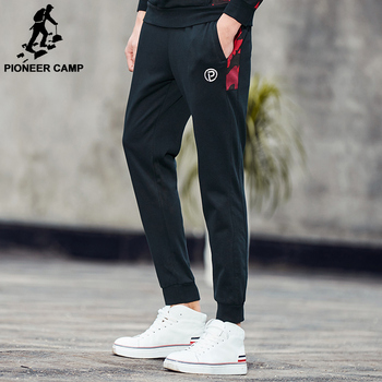 Pioneer Camp 2017 New Spring casual pants men brand clothing Camouflage patchwork Sweatpants quality male joggers   AWK702044