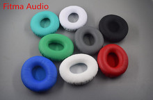 Fitma Audio Replacement Ear Pads for Beats SOLO / SOLO HD (1st Gen) Headphone Protein Leather Ear pads 6 Color(China)