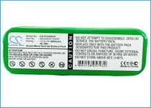 Battery For INFINUVO For CleanMate 365, QQ1, QQ2, QQ2 Basic, QQ-2 Green, QQ2 LT, QQ-2 Plus, QQ-2 White, QQ-2L(China)