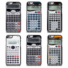 Calculator Cover Case For iPhone 4 4s 5 5c 5s se 6 6s 7 8 Plus X Sony Z1 Z2 Z3 Z5 Compact Xa XZ E5(China)