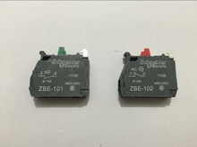 10pcs TELEMECANIQUE ZBE-101 NO ZBE-102 NC Contact Block Replaces TELE 10A 400V